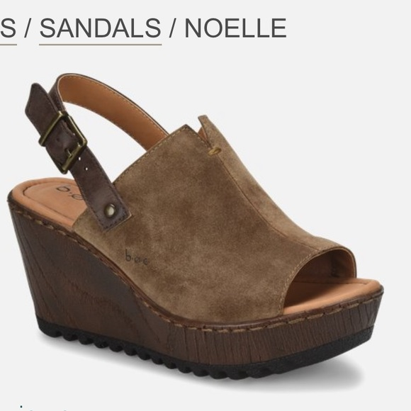 b.o.c. Noelle wedge sandals